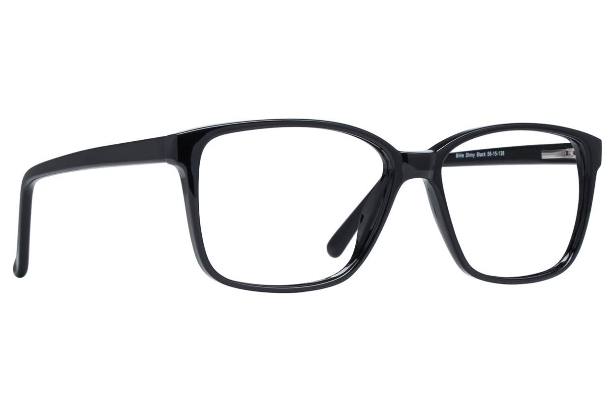 Lunettos Billie Black Glasses