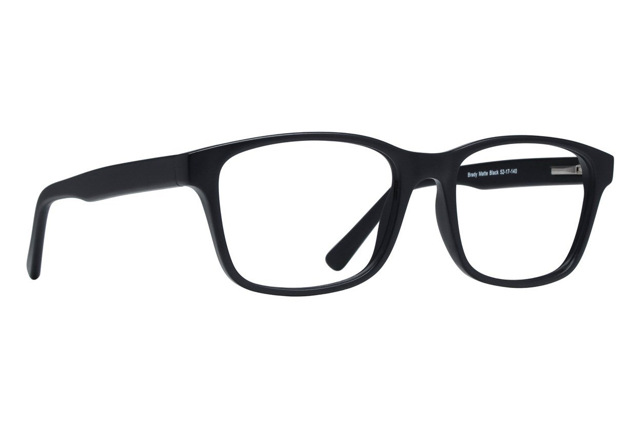 Lunettos Brady Black Glasses