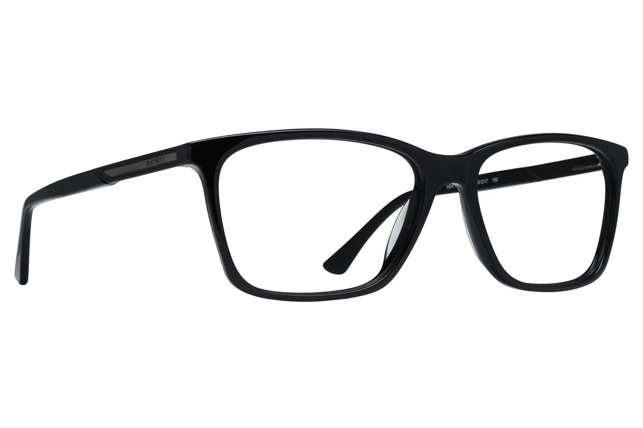 Hackett London Large Fit HEK1185 Black Glasses
