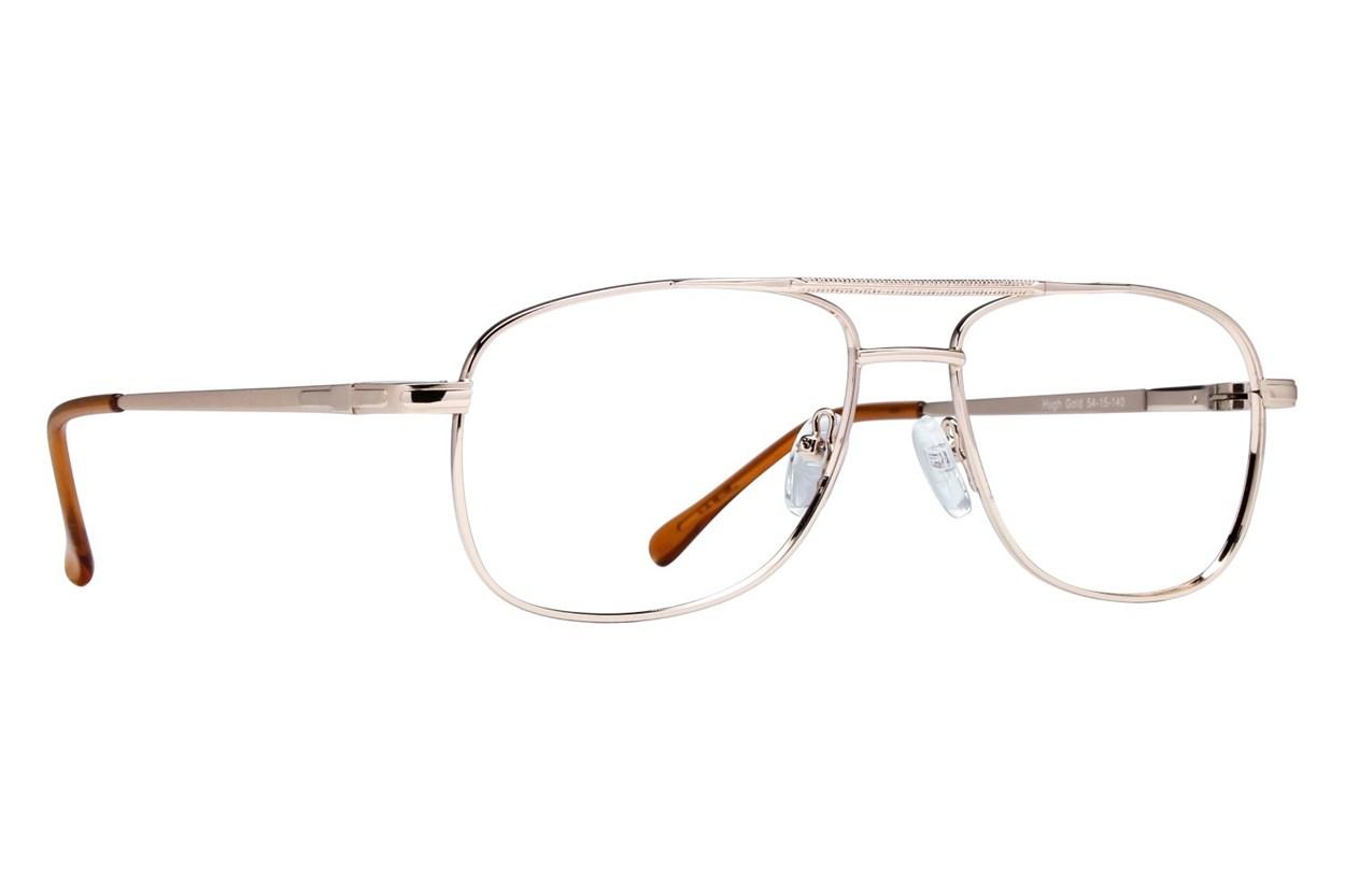 Lunettos Hugh Gold Glasses