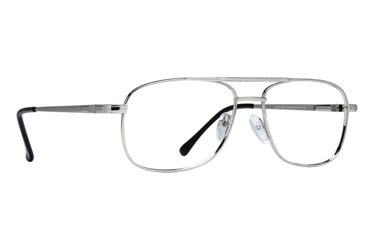 Lunettos Hugh Silver Glasses