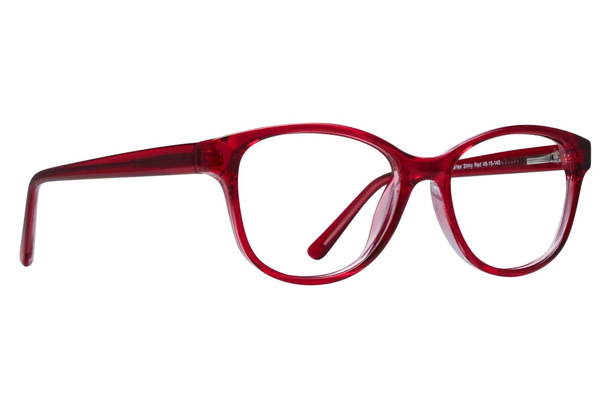 Lunettos Karlee Red Glasses