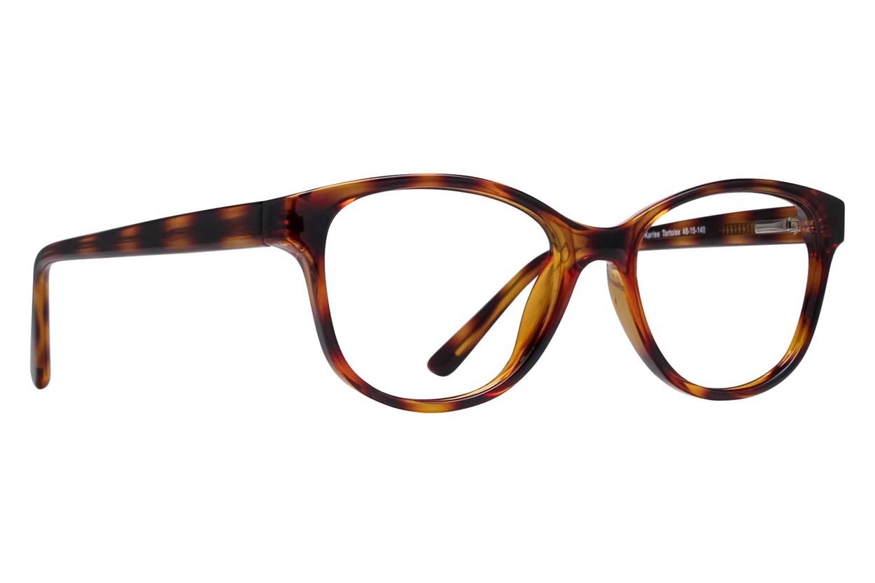 Lunettos Karlee Tortoise Glasses