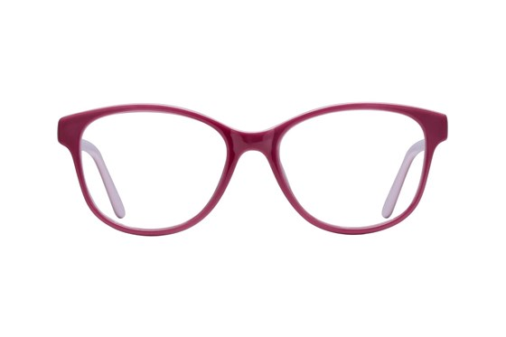 Lunettos Karlee Pink Glasses