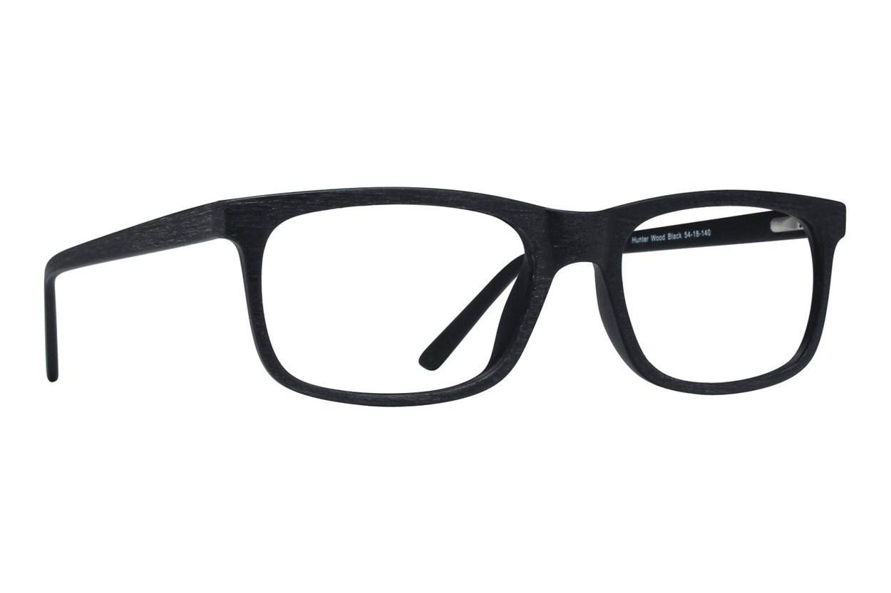 Lunettos Hunter Black Glasses