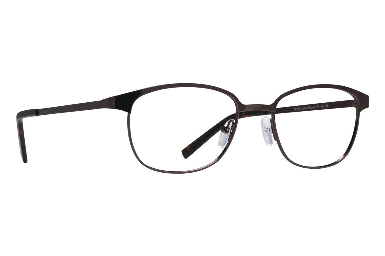 Lunettos Micah Brown Glasses