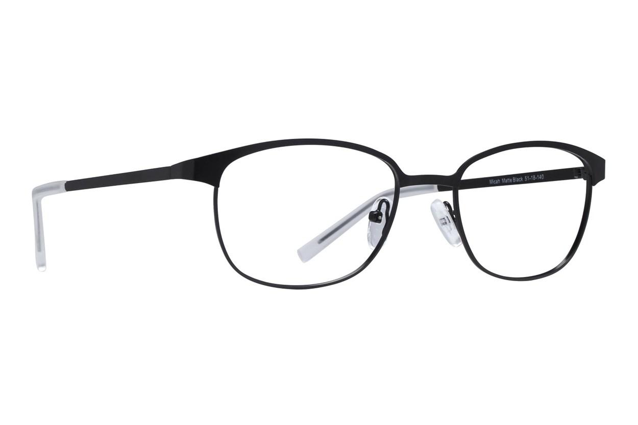 Lunettos Micah Black Glasses