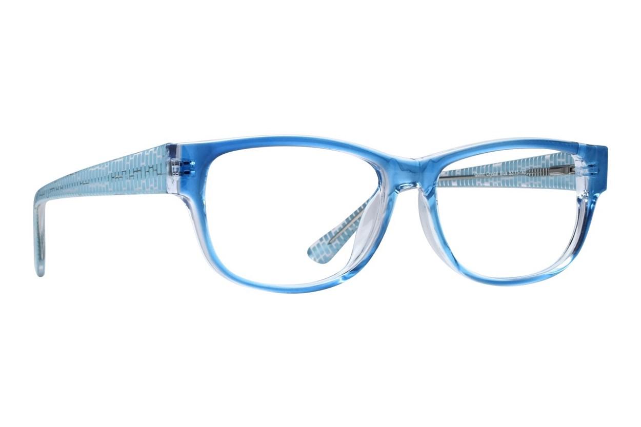 Lunettos Quinn Blue Glasses