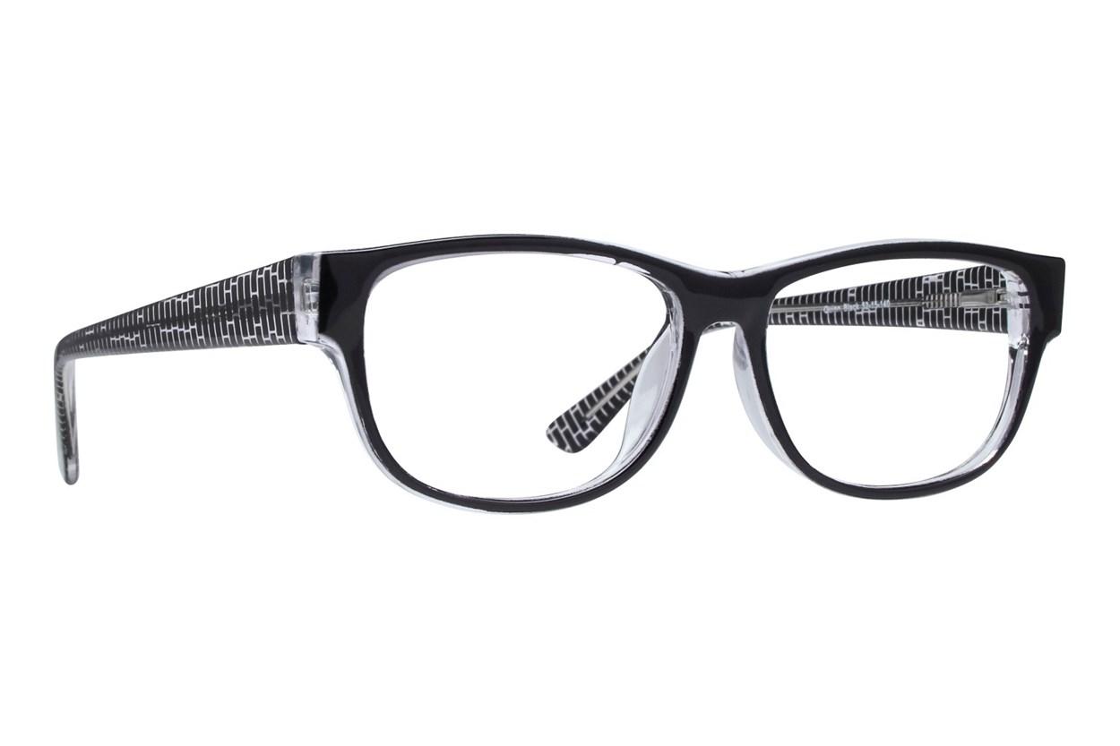 Lunettos Quinn Black Glasses