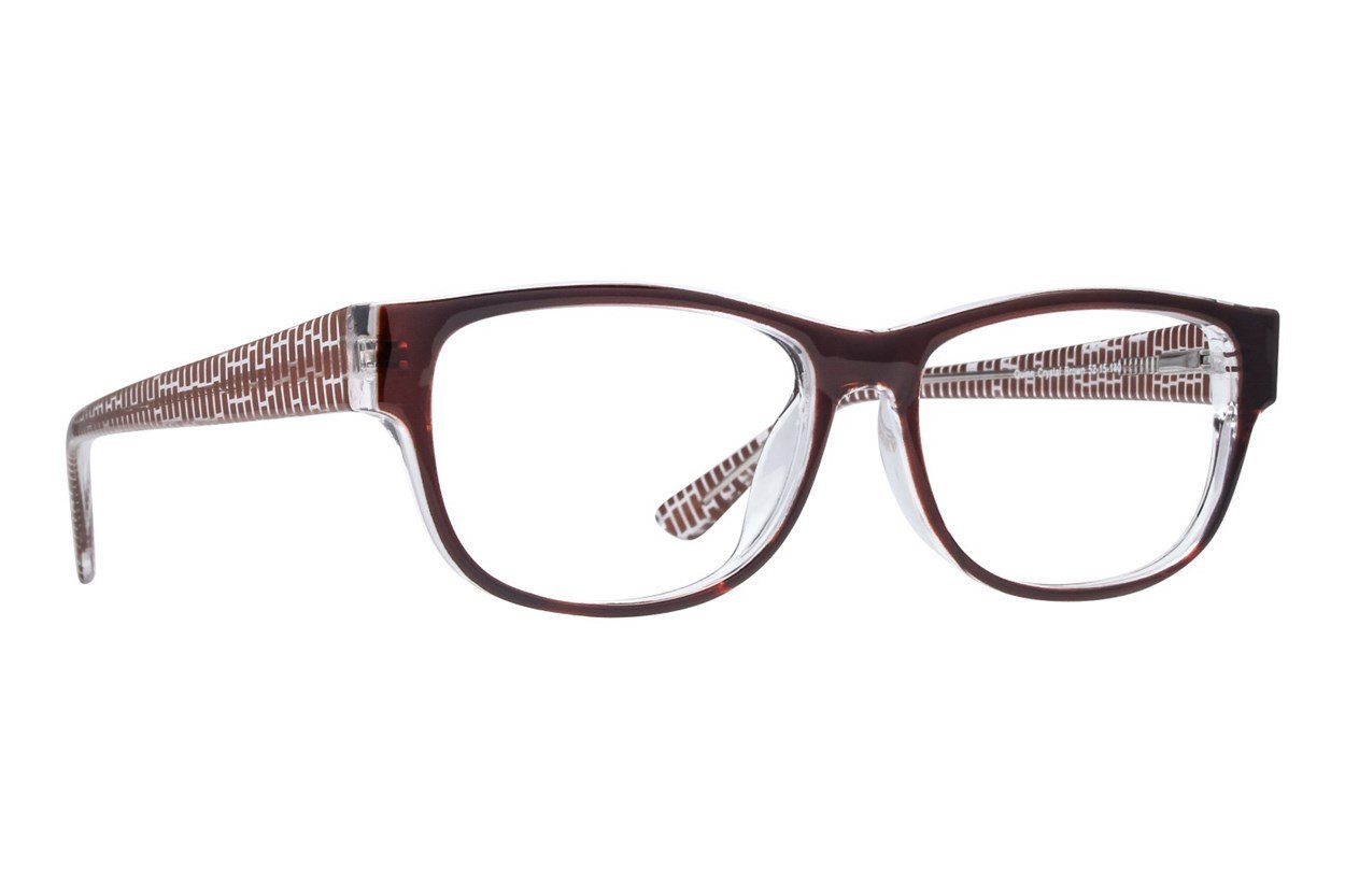 Lunettos Quinn Eyeglasses - Brown