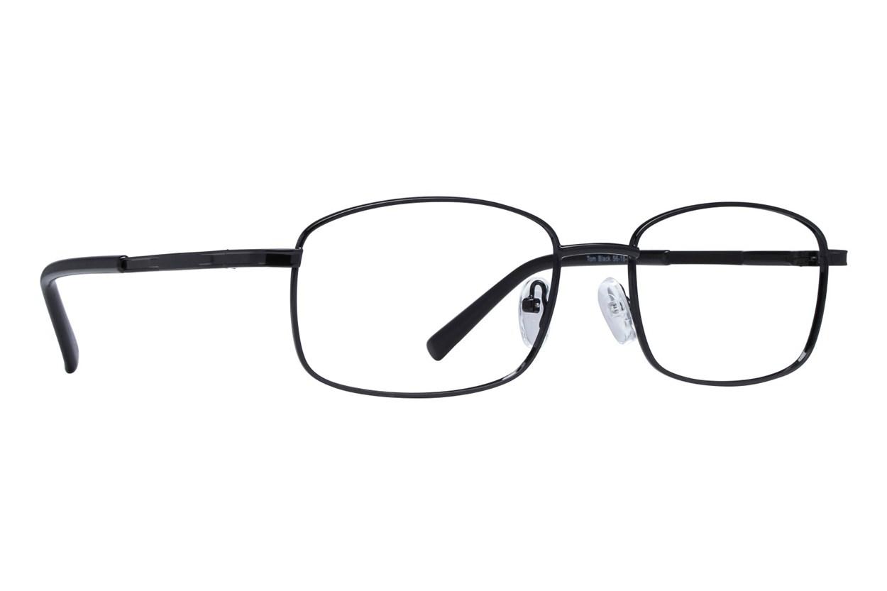 Lunettos Tom Black Glasses