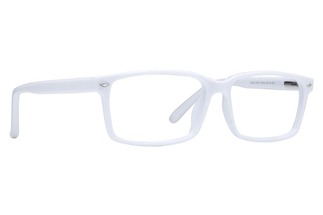 Lunettos Lane White Glasses