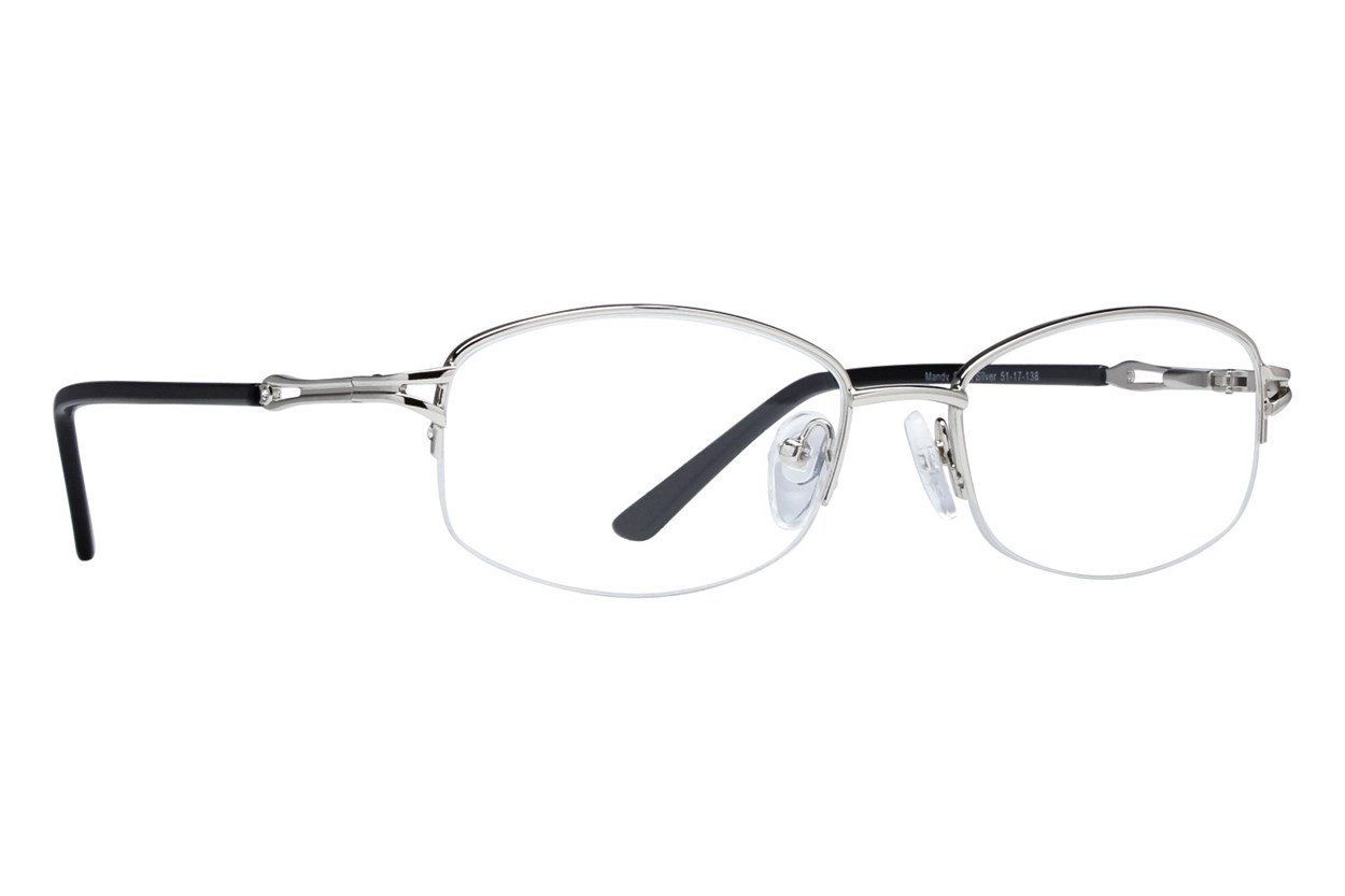 Lunettos Mandy Silver Glasses