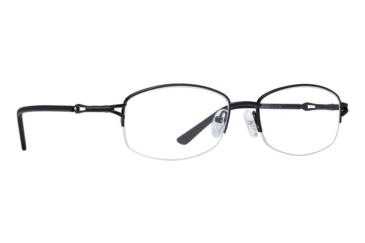 Lunettos Mandy Black Glasses