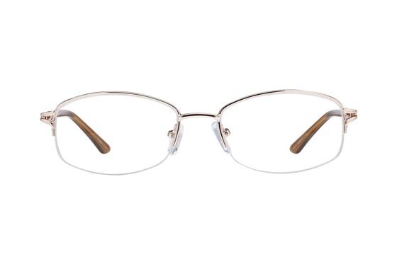 Lunettos Mandy Gold Glasses