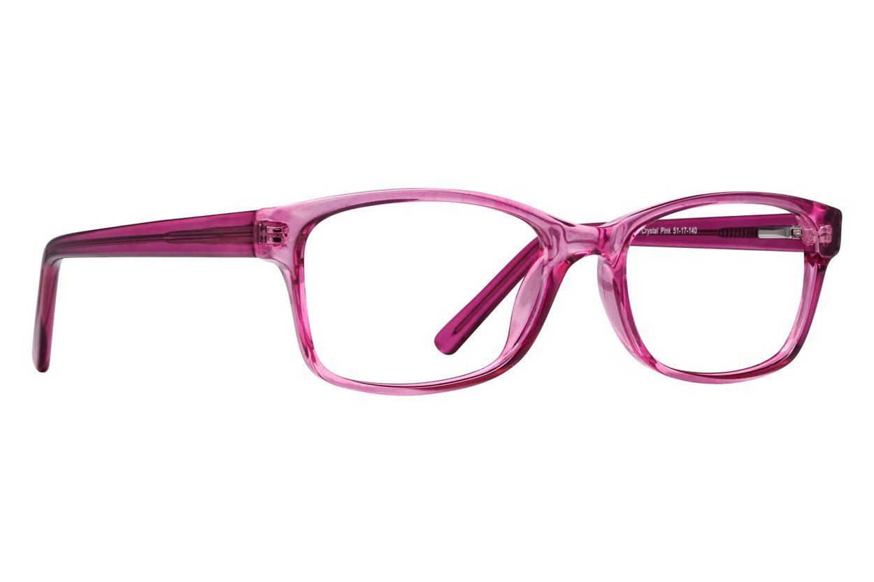 Lunettos Nico Pink Glasses