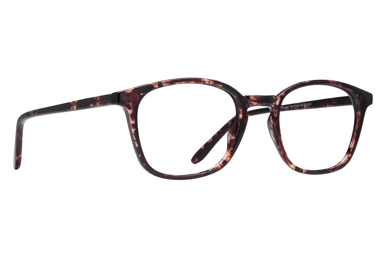 Lunettos Reagan Tan Glasses