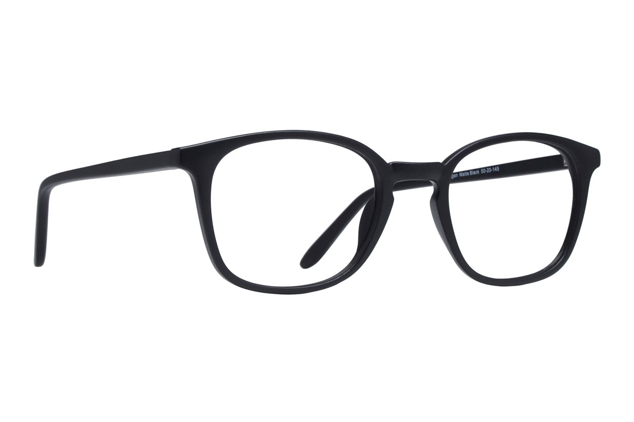 Lunettos Reagan Black Glasses