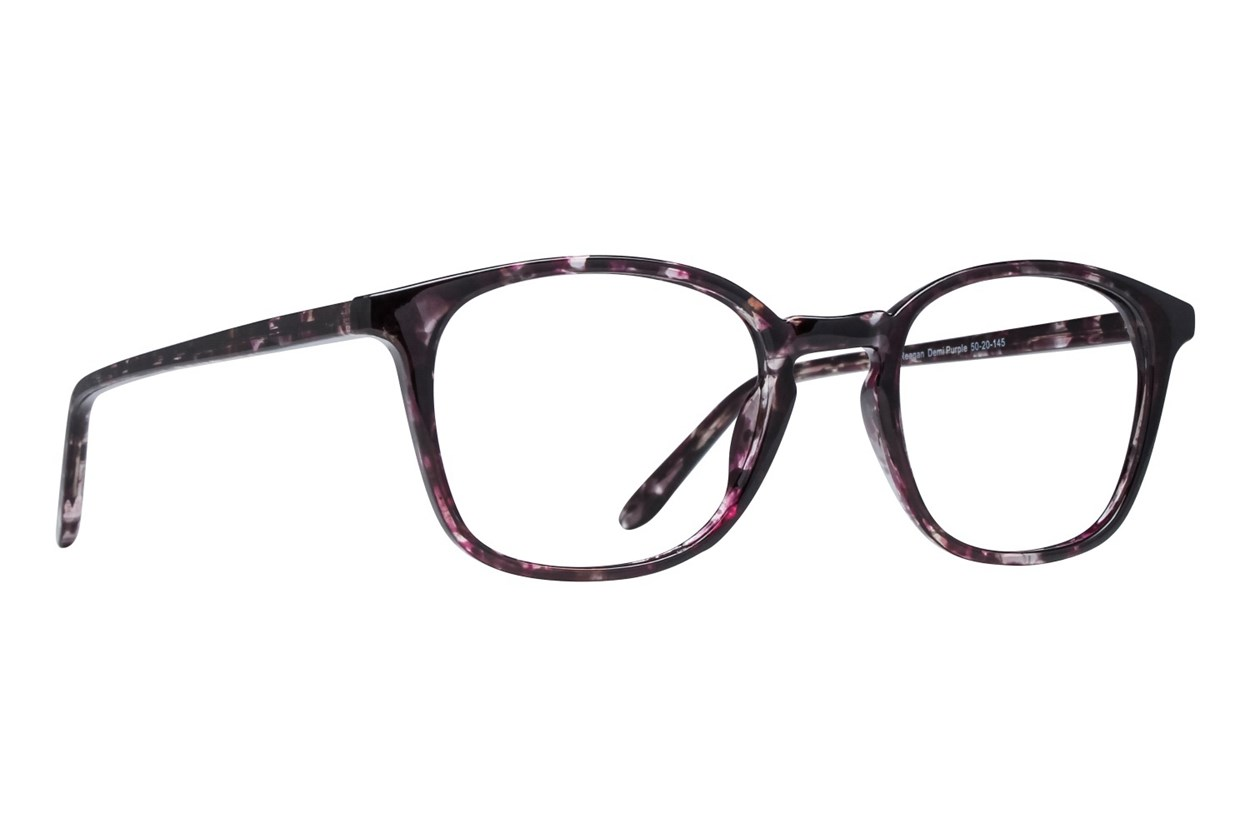 Lunettos Reagan Purple Glasses