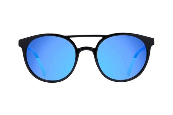 Lunettos Ashton Black Sunglasses