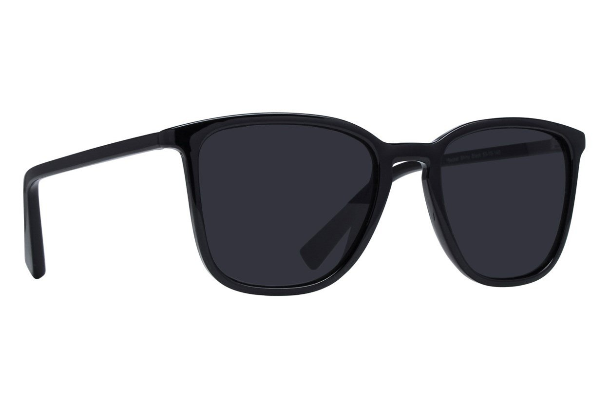 Lunettos Becket Black Sunglasses