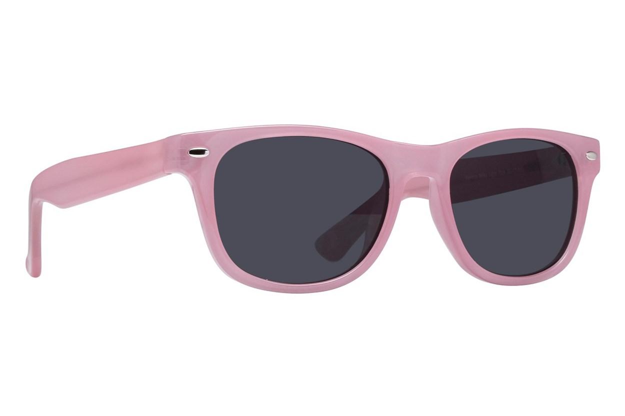 Lunettos Benson Pink Sunglasses
