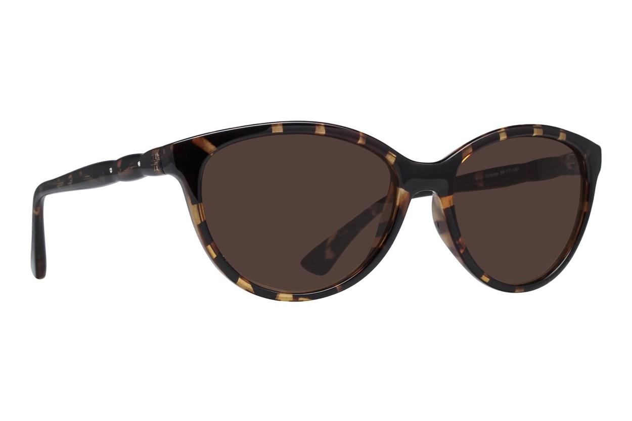 Lunettos Ariel Tortoise Sunglasses