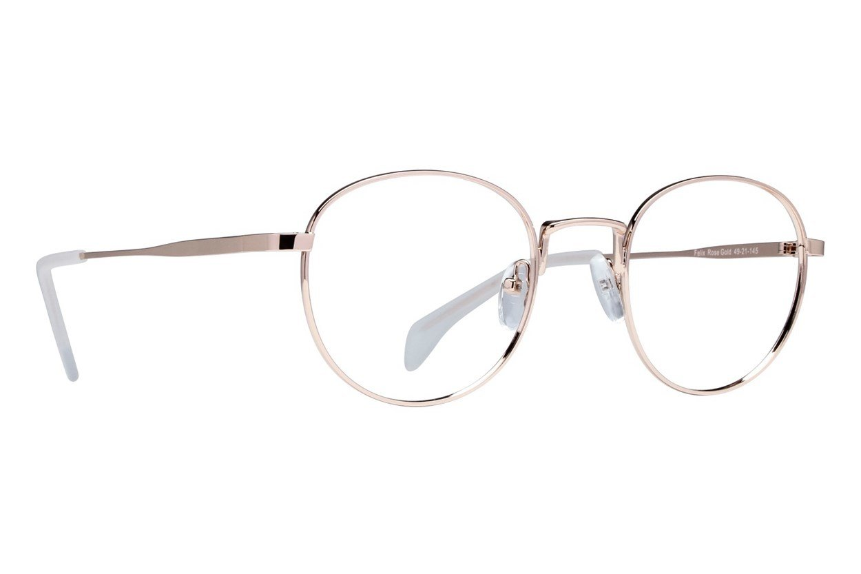Lunettos Felix Pink Glasses