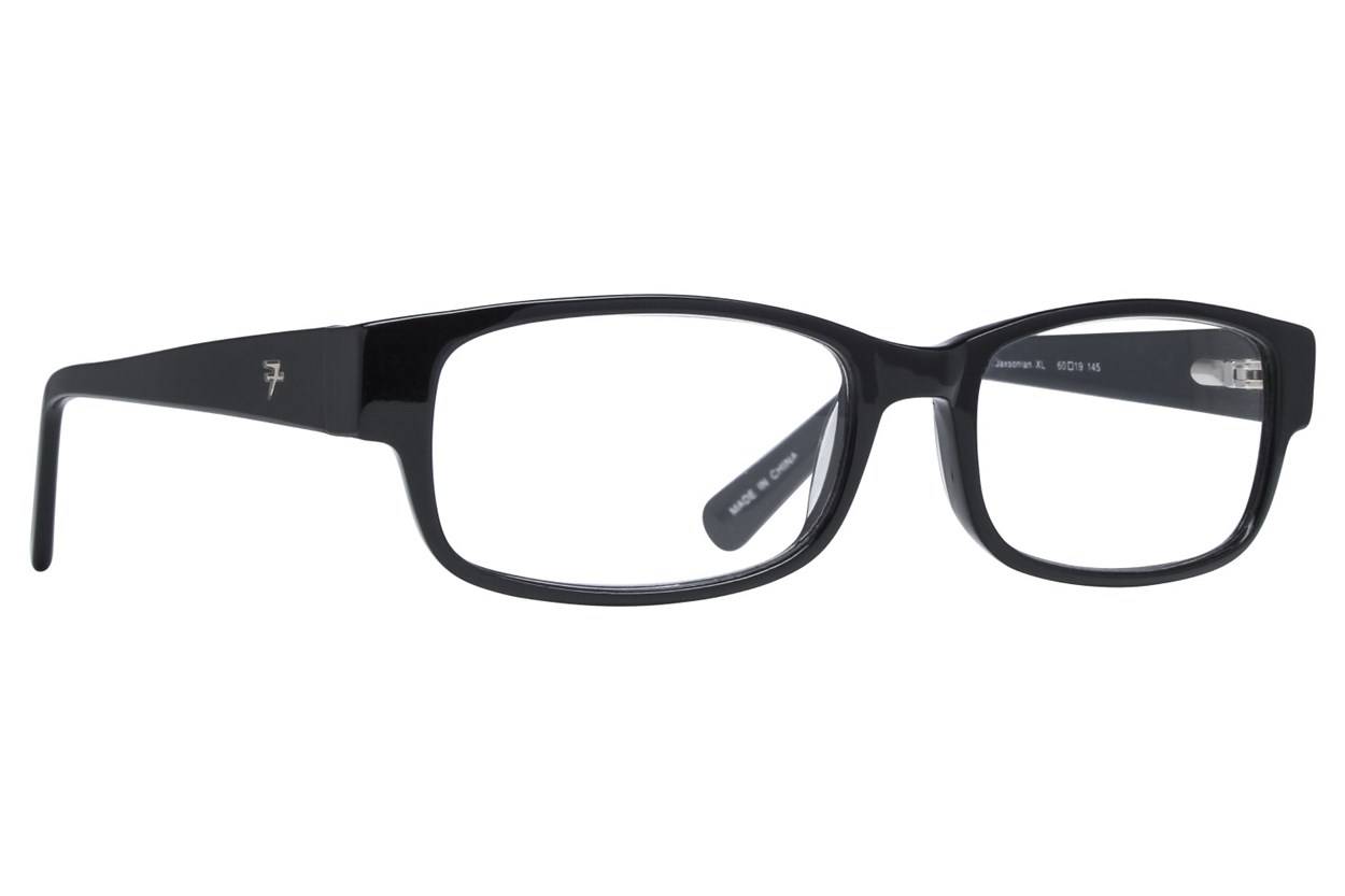 Fatheadz Jaxonian Reading Glasses Black ReadingGlasses