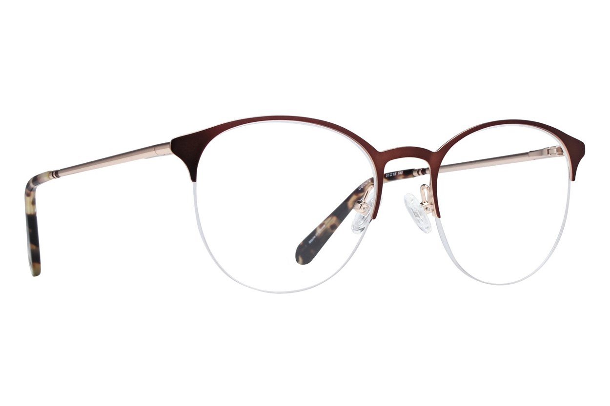 Covergirl CG0474 Eyeglasses - Brown
