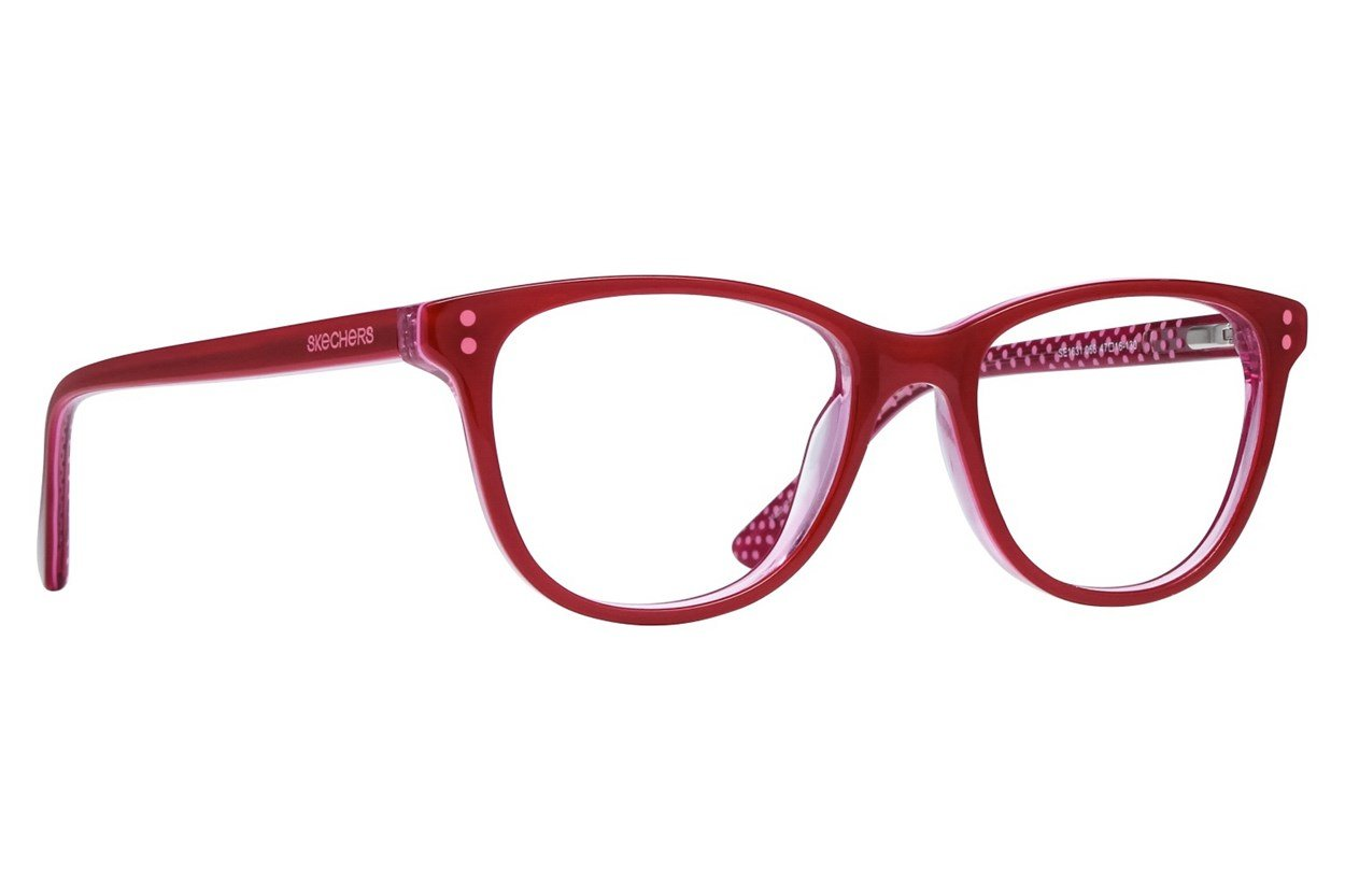 Skechers SE1631 Red Glasses