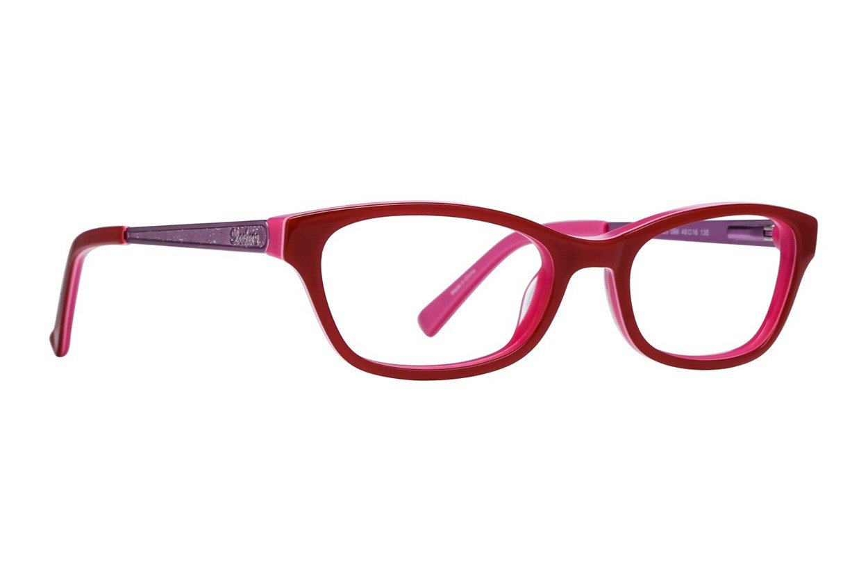 Skechers SE1623 Red Glasses