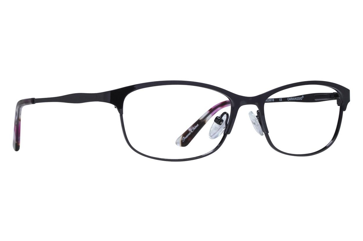 Caravaggio C127 Black Glasses