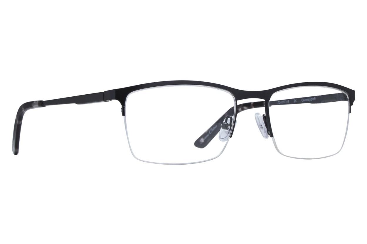 Caravaggio C418 Black Glasses