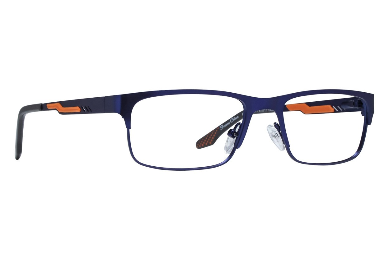 NERF Fulton Blue Glasses