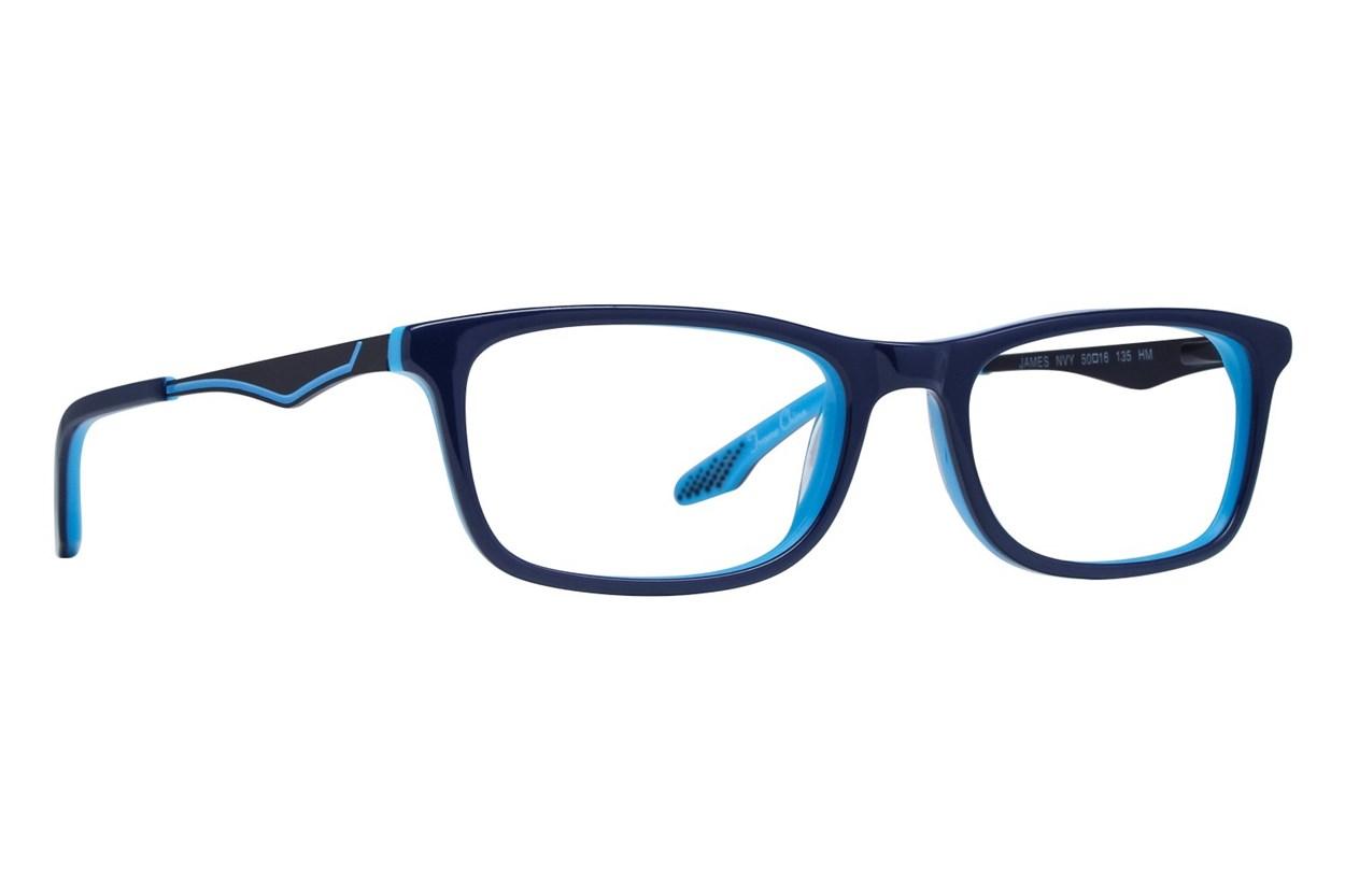 NERF James Blue Glasses