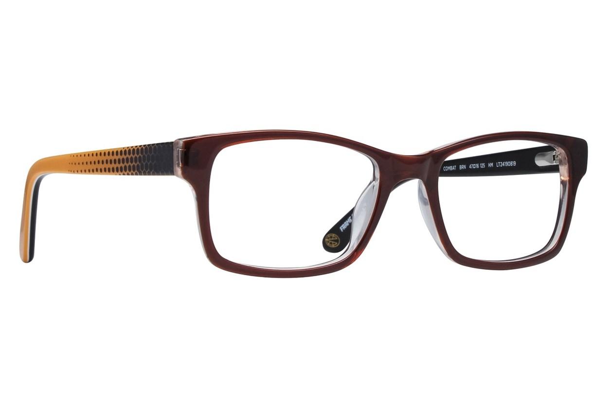 Nickelodeon Teenage Mutant Ninja Turtles Combat Brown Glasses