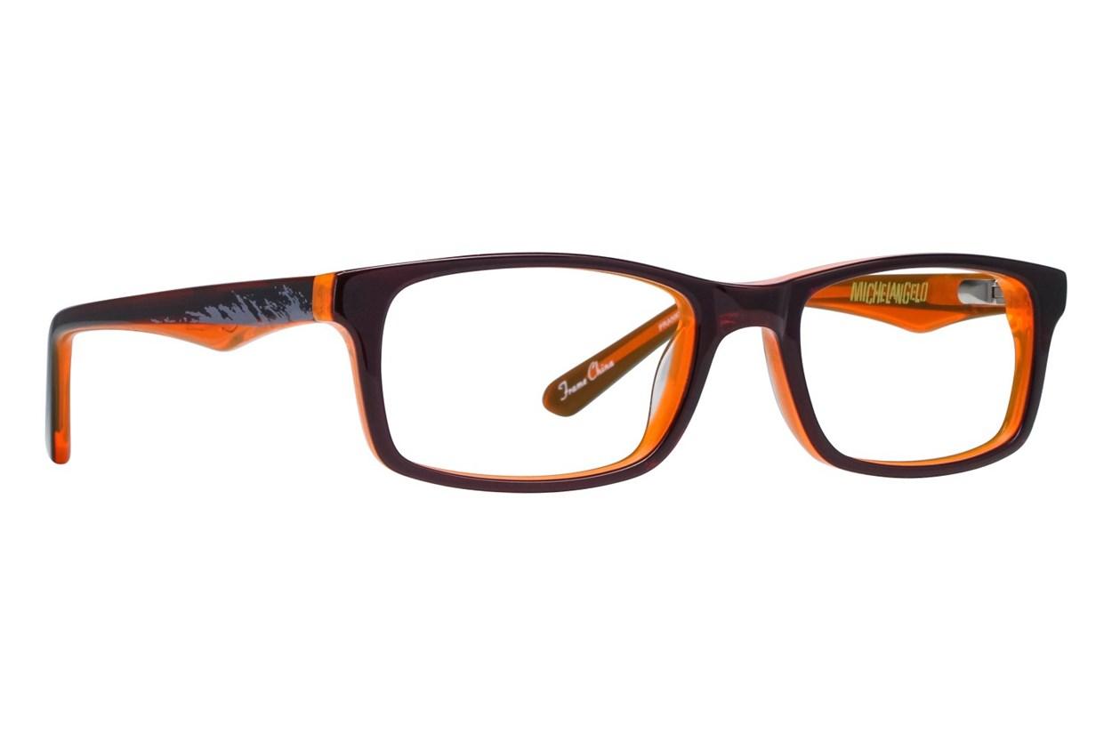 Nickelodeon Teenage Mutant Ninja Turtles Prankster Orange Glasses