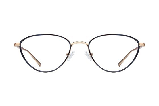 Kendall + Kylie Kali Gold Glasses