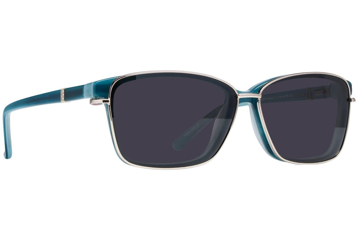 Alternate Image 1 - Revolution Ellsworth Turquoise Glasses