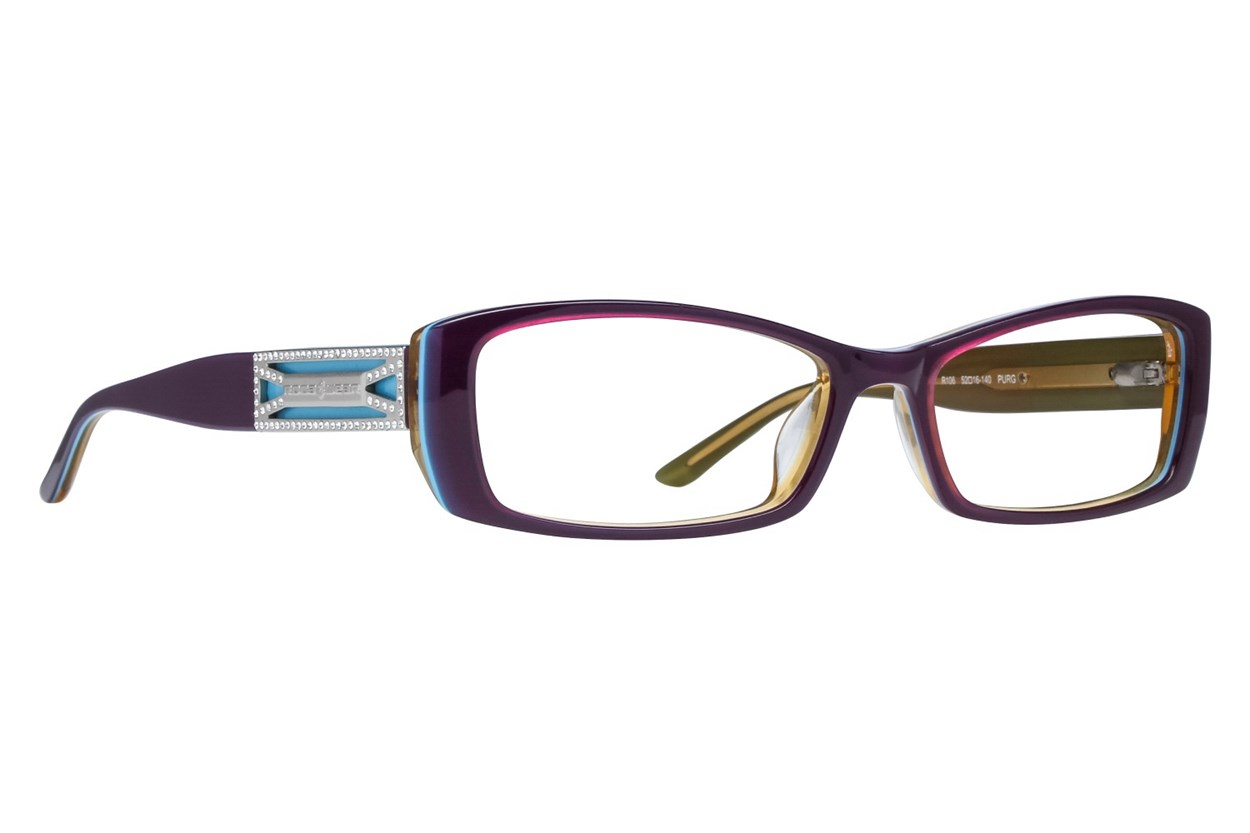 Rocawear R106 Purple Glasses