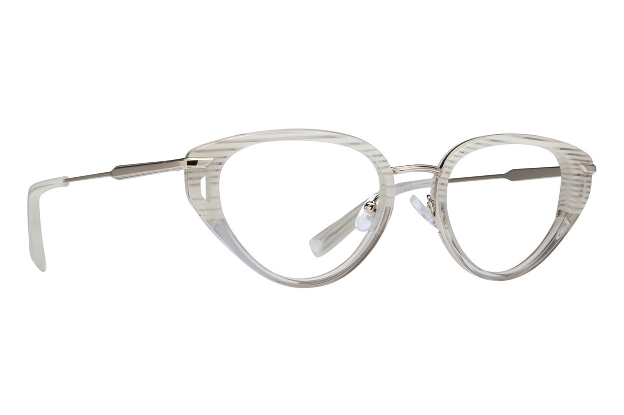 Kendall + Kylie Emilee White Glasses