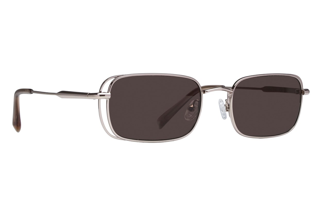 Kendall + Kylie Aiden Silver Sunglasses