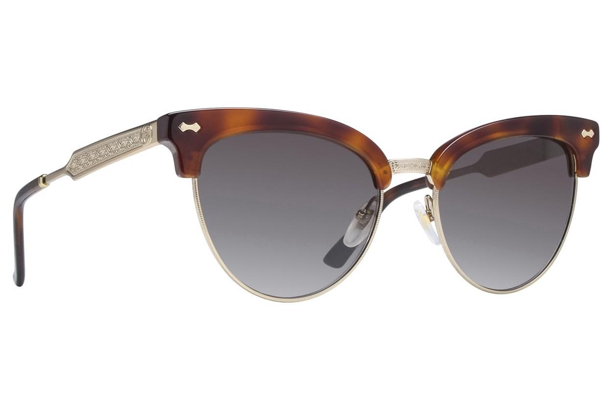 Gucci GG0055S Tortoise Sunglasses