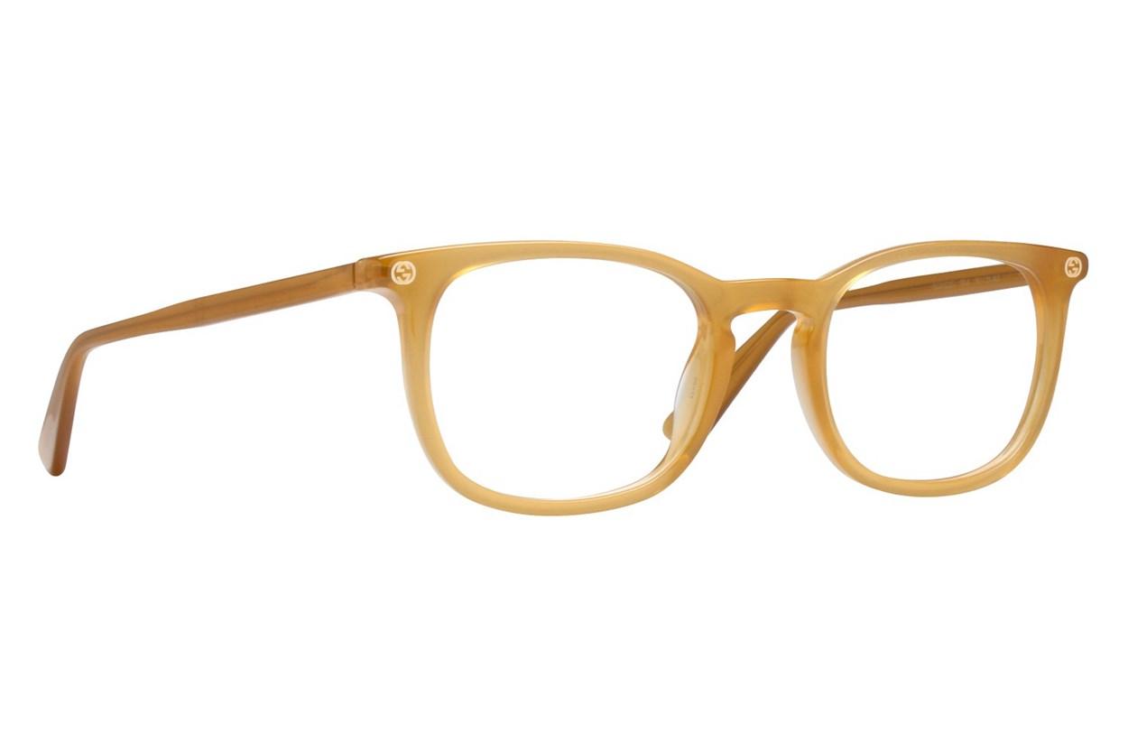 Gucci GG0122O Yellow Glasses