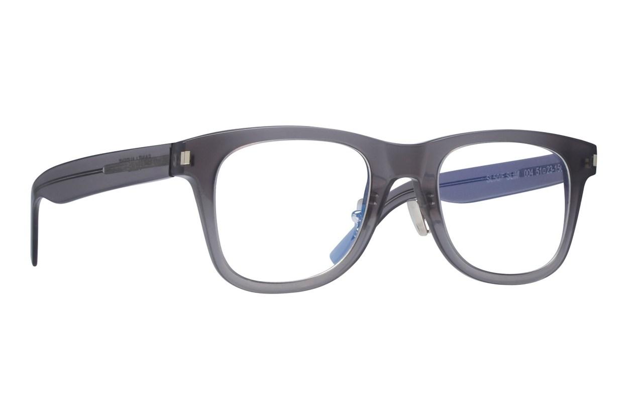 Saint Laurent SL50FSLIM Gray Glasses