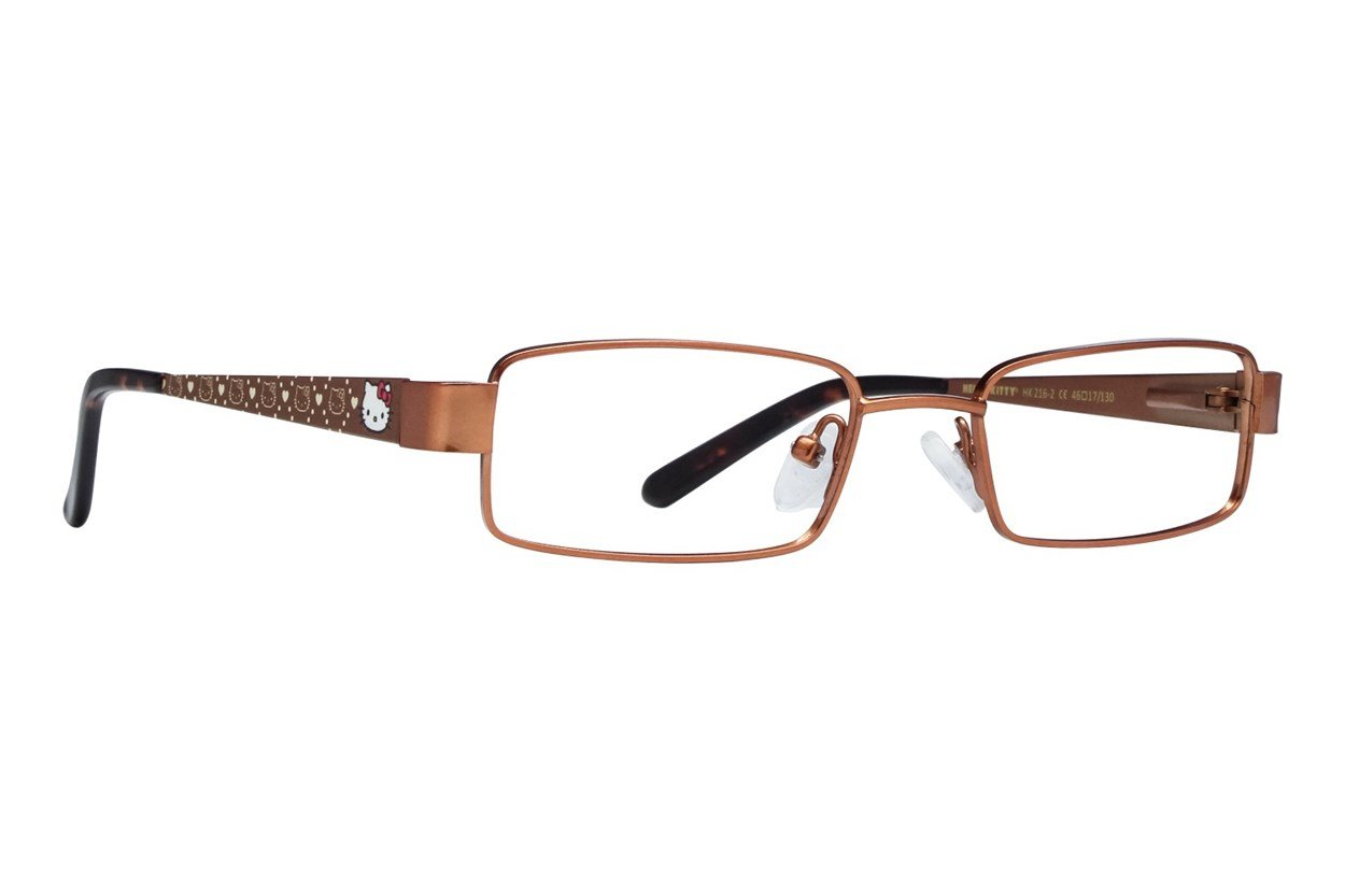 Hello Kitty HK216 Brown Glasses