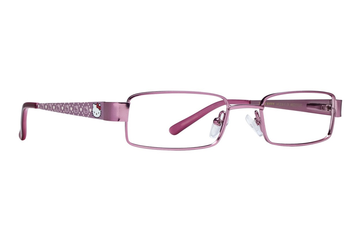 Hello Kitty HK216 Pink Glasses