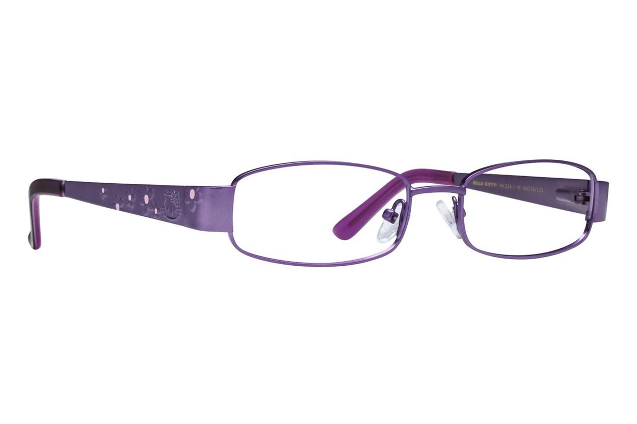Hello Kitty HK224 Purple Glasses