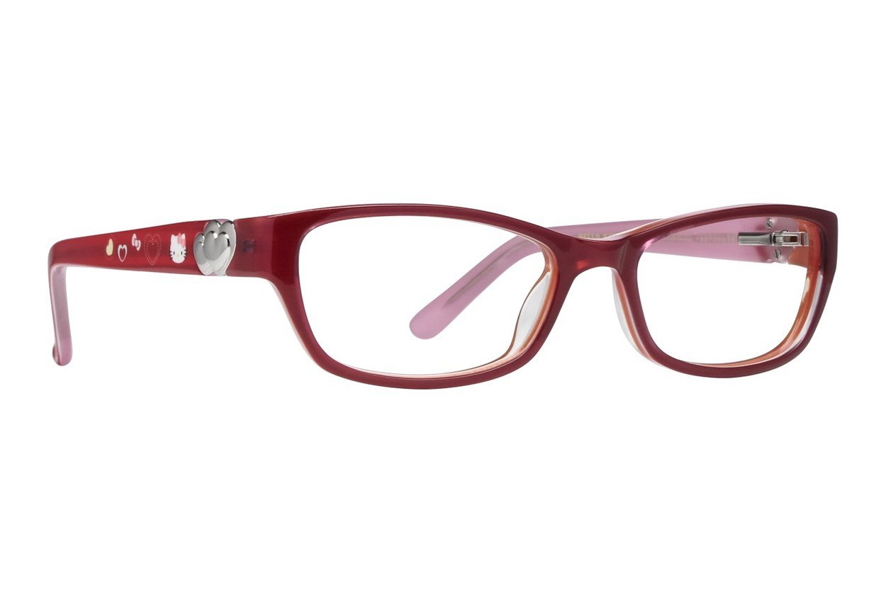 Hello Kitty HK228 Pink Glasses